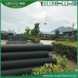 HDPE de diâmetro grande de tubos de enrolar de parede oca Tubo de plástico