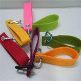 Bagues de feutre de trousseau de clés personnalisées