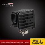 """luz impermeable del trabajo de 50W 5 """" LED para los vehículos resistentes"""