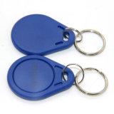 Cartão do acesso dos Tag chaves Em/MIFARE do ABS RFID