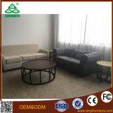 Sofá moderno de muebles con mesa de té redonda