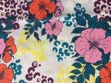 tela impresa 100%Polyester para la ropa 75D*150d 150GSM