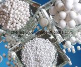 Boule de céramique en céramique d'alumine inerte à 99% pour lit de support de catalyseur