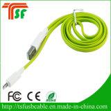 2017 Оптовые цветные высокоскоростные кабели данных USB со светодиодной подсветкой для iPhone