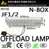 LEDのホンダNボックスJf1/2シリーズのための高い台紙の壊れ目停止ランプライト読書ランプ