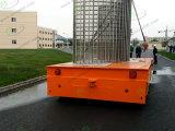 Электрическим автомобиль моторизованный рельсом плоский для отливки металла