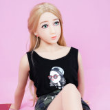 Da boneca real cheia do sexo do corpo TPS da menina silicone cheio 140cm