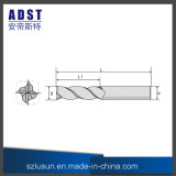 Fraise en bout d'acier de tungstène de la fabrication 62HRC 4flute de Shenzhen