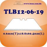 Het op zwaar werk berekende Blad van de Snijder van het Nut van het Trapezoïde (TLB12-06-19)
