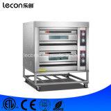 Industriële 2 Dekken 4 de Elektrische Oven van Dienbladen voor het Brood van de Bakkerij