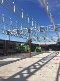 Nuevo pabellón de la estructura de acero del diseño con el panel 460 de PIR