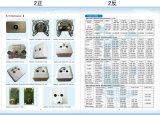 5-1000MHz TV+FM+Telの壁のソケット(SHJ-TWS035)