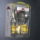 24PCS Stainless Steel Cutlery Knife Set