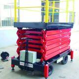 levage mobile de ciseaux d'acier de manganèse de 12m avec le certificat de la CE