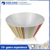 Tamanho personalizado de melamina multicor recipiente alimentar noodle bowl
