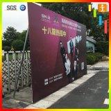 Drapeau promotionnel de câble de PVC Frontlit de la publicité extérieure
