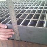 Edelstahl, der für Fußboden-Blockiervergitterung und -treppenhaus zerreibt