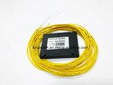 바깥쪽으로 Gpon 원거리 통신 1X8 플라스틱 상자 PLC 쪼개는 도구는 연결한다