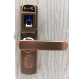 Cerradura de puerta de múltiples funciones de bloqueo de puertas de huella dactilar biométrica