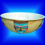 Cadeau d'artisanat / Thanksgiving Day Party Fournitures / Vaisselle - Bol de l'écrou de Luau (WL4804)