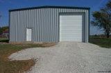 Entrepôt léger préfabriqué de garage de structure métallique