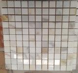 Mattonelle di mosaico di pietra bianche di Calacatta Carrara