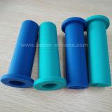 Custom Molding Silicone Rubber Handle Grip Sleeve para alça de bicicleta