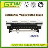 De Printer van Inkjet van het groot-Formaat van Oric tx3202-E met Twee dx-5 Printheads