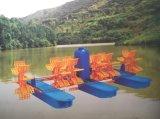 3HP 6 Paddlewheel de camarones de aireación estanque de peces de estanque