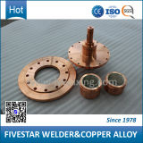 piezas de repuesto de aleación de cobre y los electrodos de soldadura por resistencia la máquina