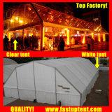 2018党250人のSeaterのゲストのための透過多角形の屋根の玄関ひさしのテント