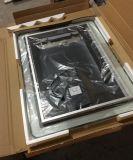 Espejo de cristal del nuevo cuarto de baño oval de la llegada Jnh244 con el reloj