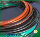 Flexible Noir FKM 70 Cordon en caoutchouc / bande pour étanchéité