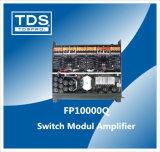 4 CH PA Conmutador de sonido amplificador de ingeniería de sonido