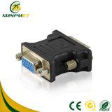 Los datos de potencia portátil DVI macho-hembra de 24+5 M/ adaptador VGA F