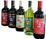 Adhesivo impreso personalizado botella de vino etiquetas laminadas