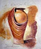 Huile sur toile abstraite 0103