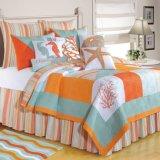 De briljante Reeks van het Blad van de Slaapkamer van het Bed van de Koning van de Reeksen van het Beddegoed van het Strand