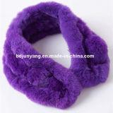 Commercio all'ingrosso falso della sciarpa della pelliccia, pelliccia del coniglio di Rex