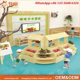 Guangzhou fabricant de jouets éducatifs en bois utilisé garderie vente de meubles