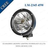Super Bright LED de voiture de sortie des phares de travail de 7 pouces 45W CREE LED feux de conduite