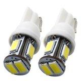 T10 Shock-Resistant LED Anzeiger-Auto-Lampe (T10-WG-006Z5730D)
