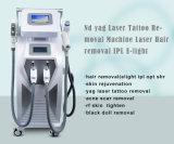 4 in 1 IPL Shr Elight Apparatuur van de Pigmentatie van de Wenkbrauw van de Tatoegering van de Laser van de Verwijdering van het Litteken van de Acne van de Verjonging van de Huid van de Machine van de Salon van de Verwijdering van het Haar