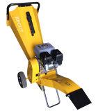 Machine Chipper en bois de HP de couleur de corps du soin Chipper jaune 6.5 de jardin