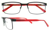 Vidrios de lectura del marco del metal del espectáculo de China de las lentes del diseño de Italia