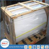 Papier synthétique de l'adhésif pp pour l'empaquetage cosmétique