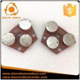 Comcrete 지면을%s 3개의 둥근 세그먼트 다이아몬드 금속 함정 공구