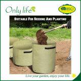Onlylife PET im Freiengarten-Pflanzer-Beutel mit Entwässerung-Löchern