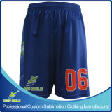 Shorts completi su ordine del gioco di pallacanestro di alta qualità di sublimazione