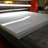 rullo rigido bianco dello strato del PVC della plastica di 0.45mm Matt per stampa in offset UV